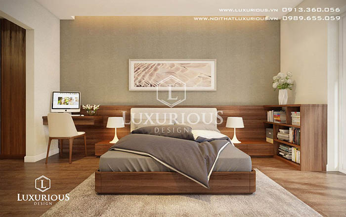 Phòng ngủ chung cư Lancaster