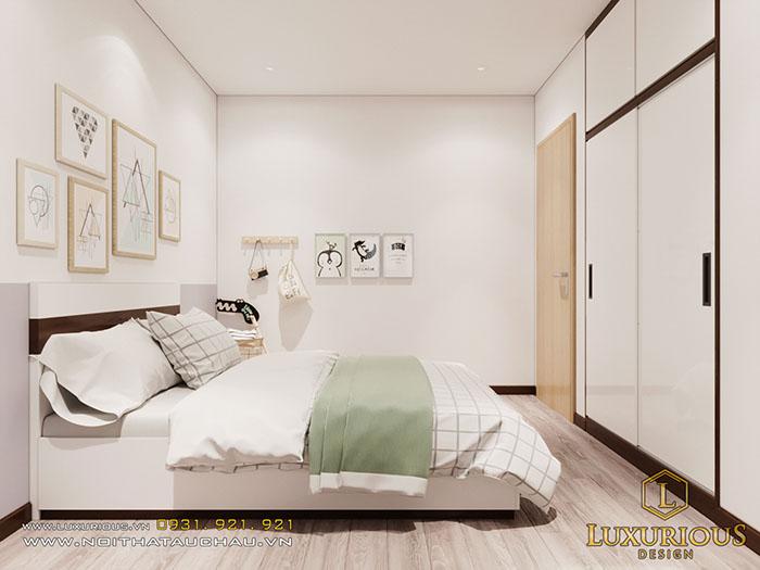 Phòng ngủ gỗ công nghiệp