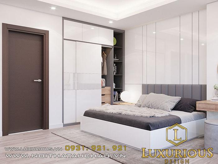 Phòng ngủ master chung cư