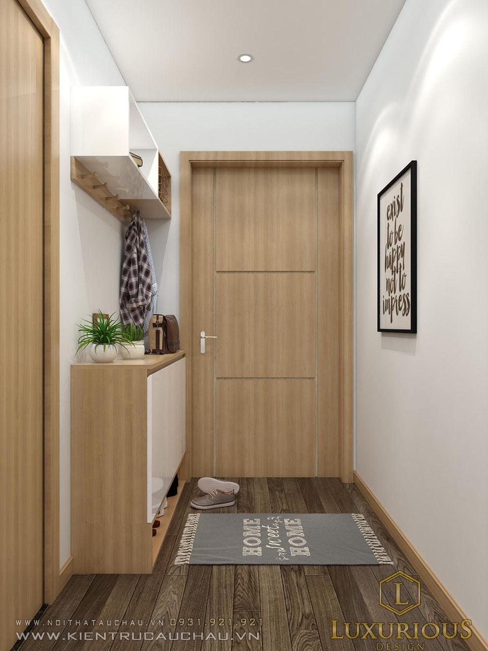 Thiết kế căn hộ chung cư sky central