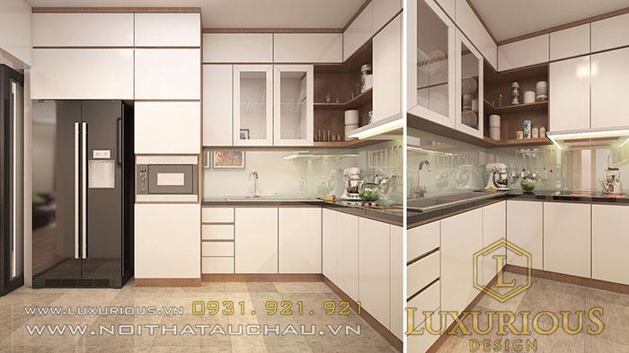 Thiết kế nội thất gỗ công nghiệp cho nhà chung cư