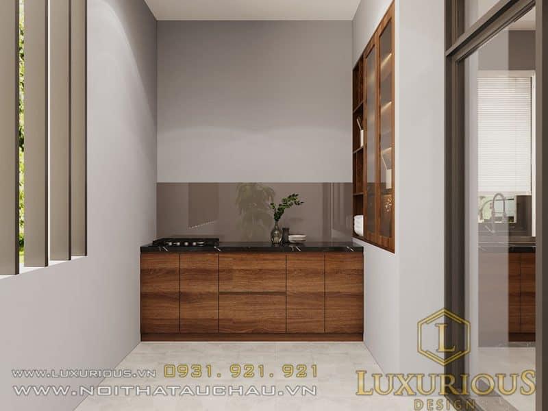 mẫu thiết kế nội thất nhà có gara