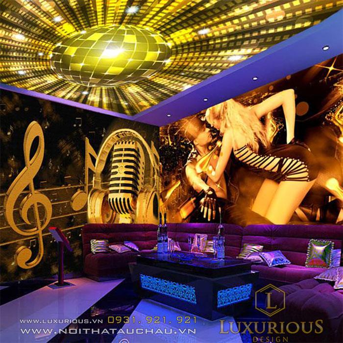 Mẫu phòng Karaoke sành điệu