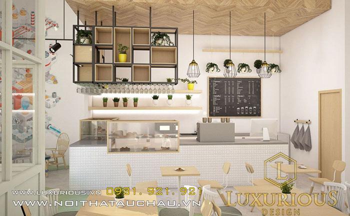 Mẫu quán Cafe phong cách Scandinavian đẹp