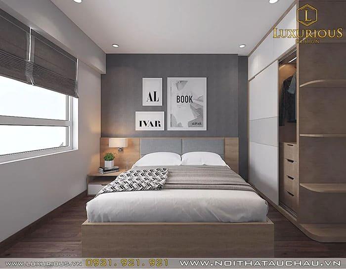Nội thất phòng ngủ hiện đại, thư giãn, ấm cúng