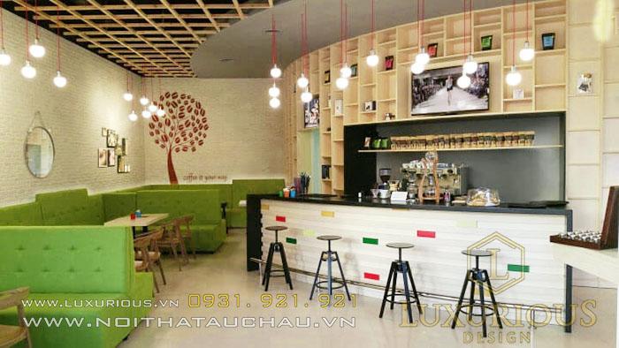 Phong cách quán cà phê đương đại