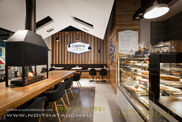 Phong cách thiết kế quán Cafe hiện đại