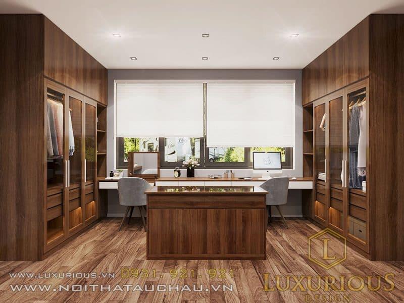 Thiết kế nội thất nhà ống 4 tầng - phòng ngủ