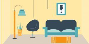 Quy luật hài hòa trong thiết kế nội thất