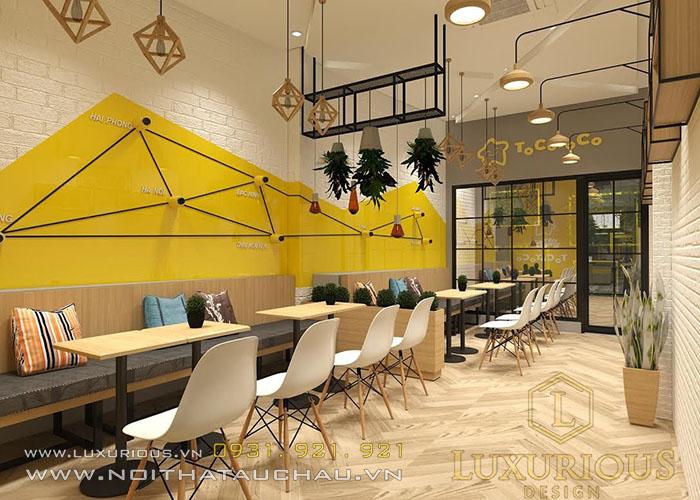 Thiết kế quán Cafe đẹp Hà Nội