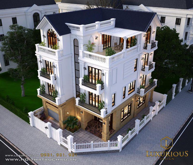 mẫu kiến trúc tân cổ điển