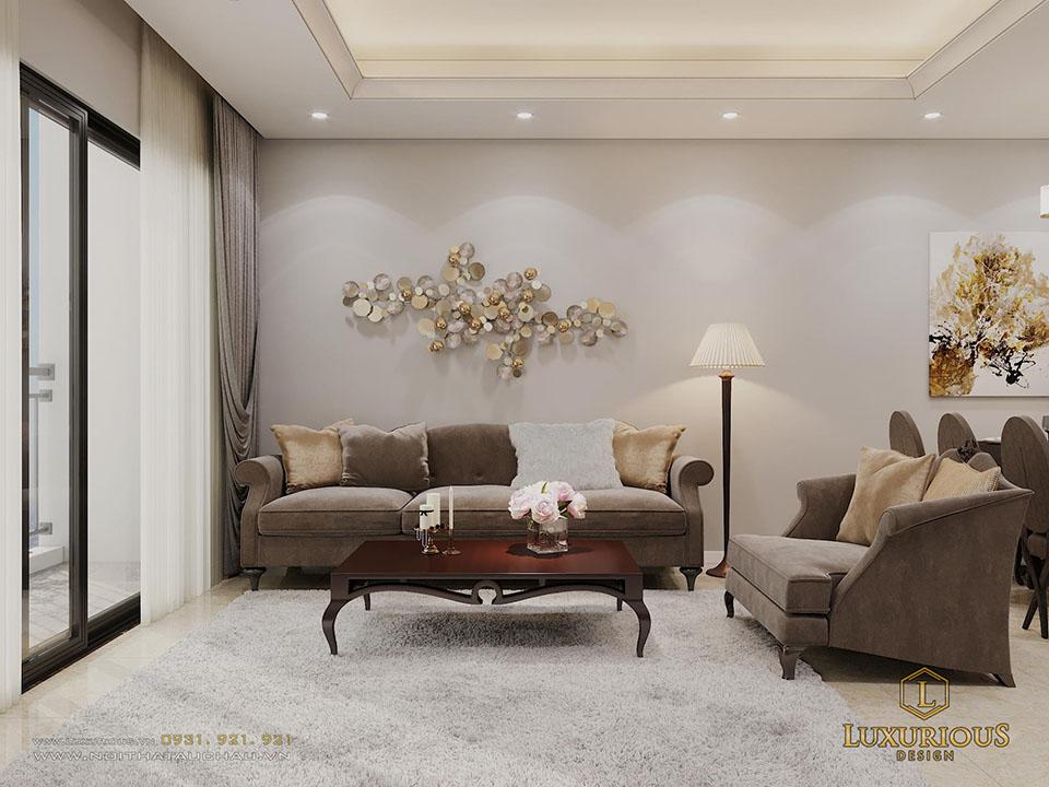 Phòng khách Vinhomes D Capitale
