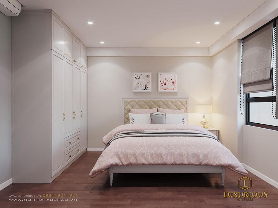 Phòng ngủ chung cư D Capitale