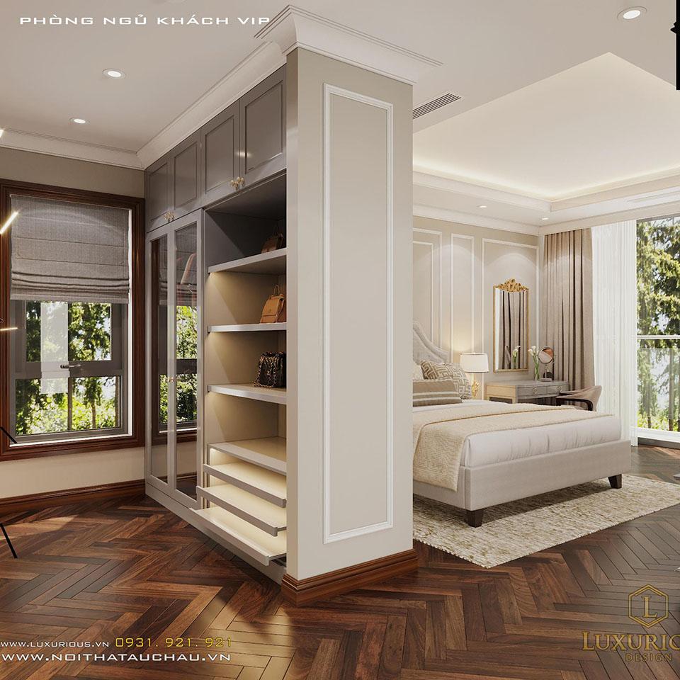 Tủ phòng ngủ tân cổ điển