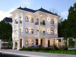 Công ty thiết kế kiến trúc biệt thự tân cổ điển