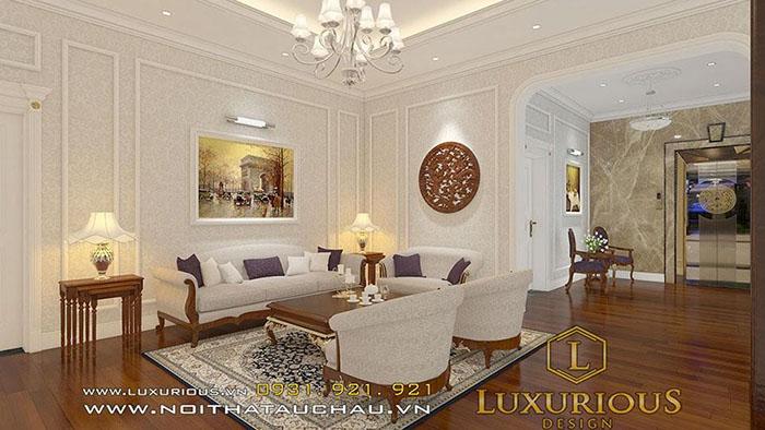 Phong cách thiết kế nội thất tinh tế, lãng mạn