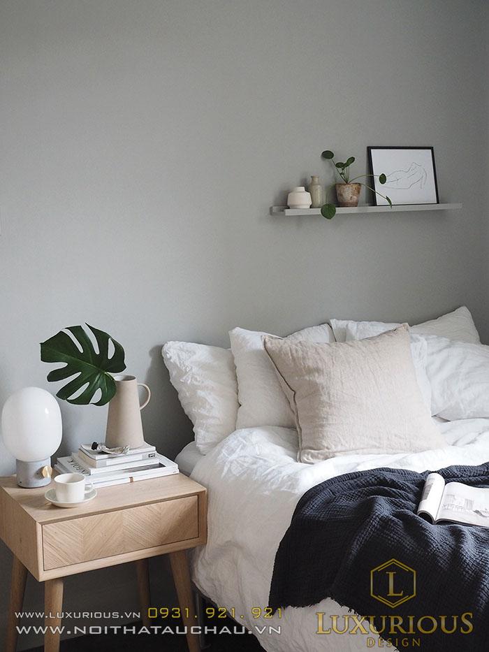 Phòng ngủ phong cách Scandi
