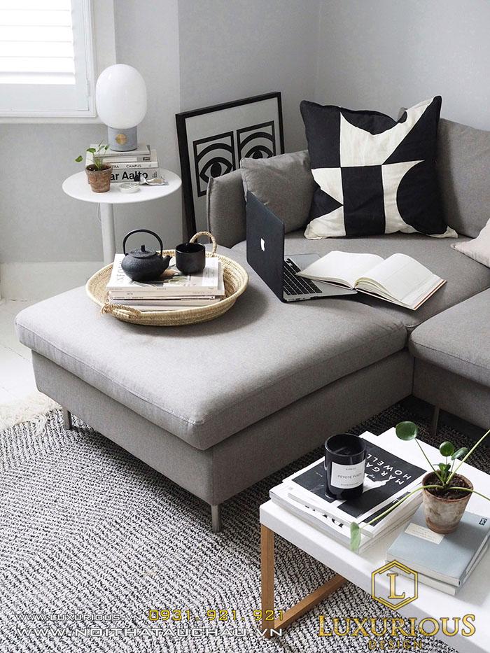 Sofa phòng khách may đo