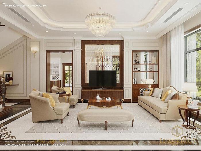 Thiết kế nội thất phong cách sang trọng