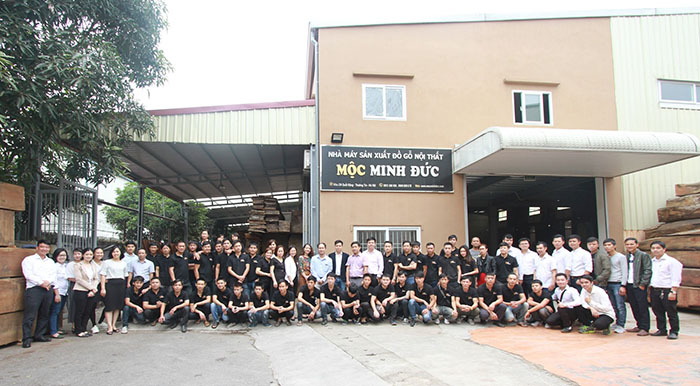 Xưởng sản xuất nội thất gỗ óc chó ĐẸP - CHẤT tại Hà Nội