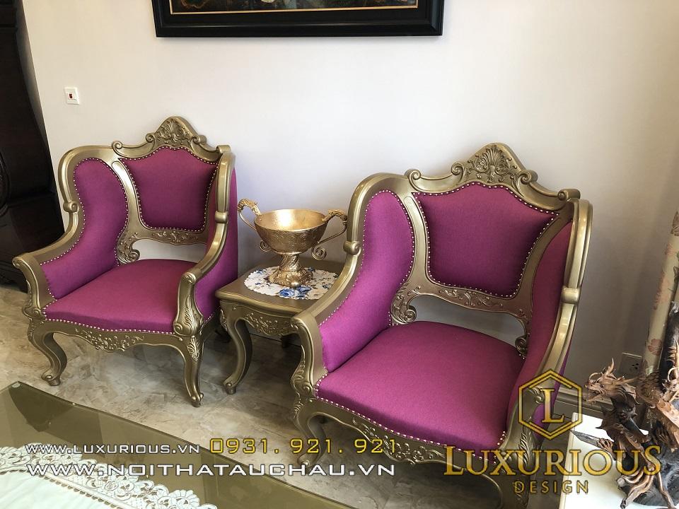 Bàn ghế gỗ tân cổ điển đẹp