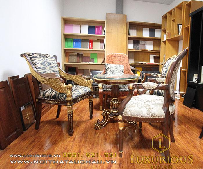 Bộ bàn ghế Tân cổ điển sang trọng