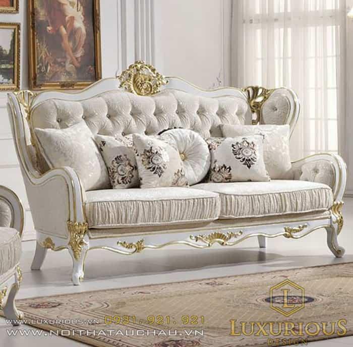 Ghế Sofa sang trọng phong cách tân cổ điển