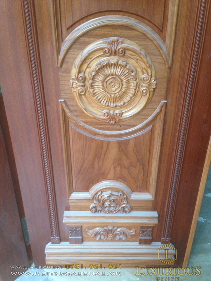 Hoa văn cửa gỗ đẹp