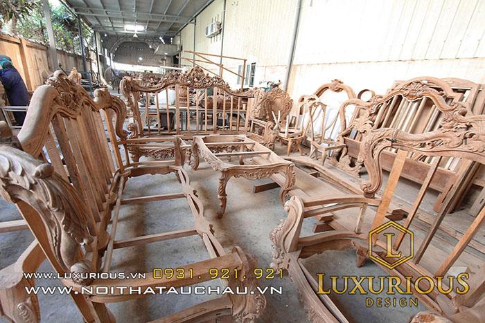 Kho bàn ghế tân cổ điển