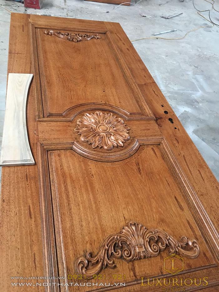 Mẫu cửa gỗ 2 cánh