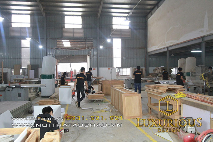 Nhà máy sản xuất hiện đại