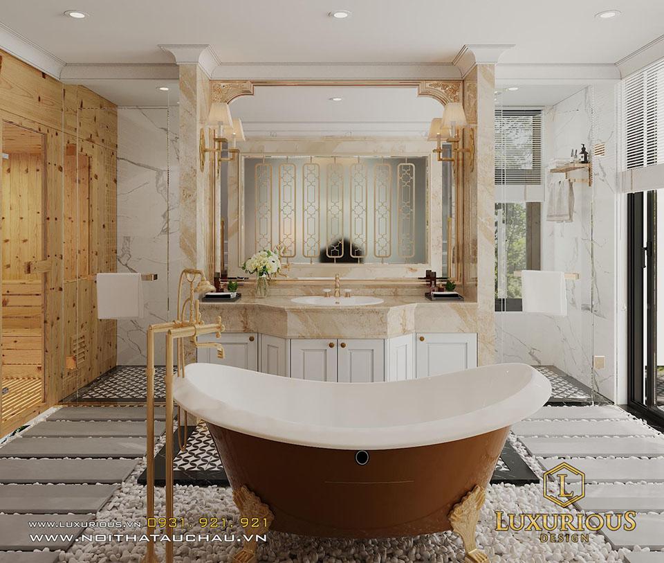 Phòng tắm khách sạn vip