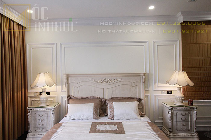 Mẫu giường phong cách Italy