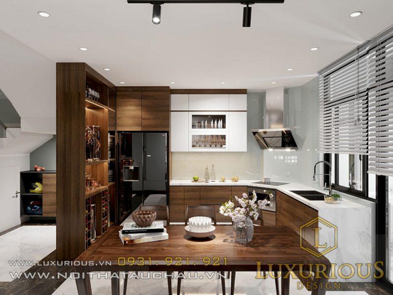thiết kế nội thất yên bái nhà phố