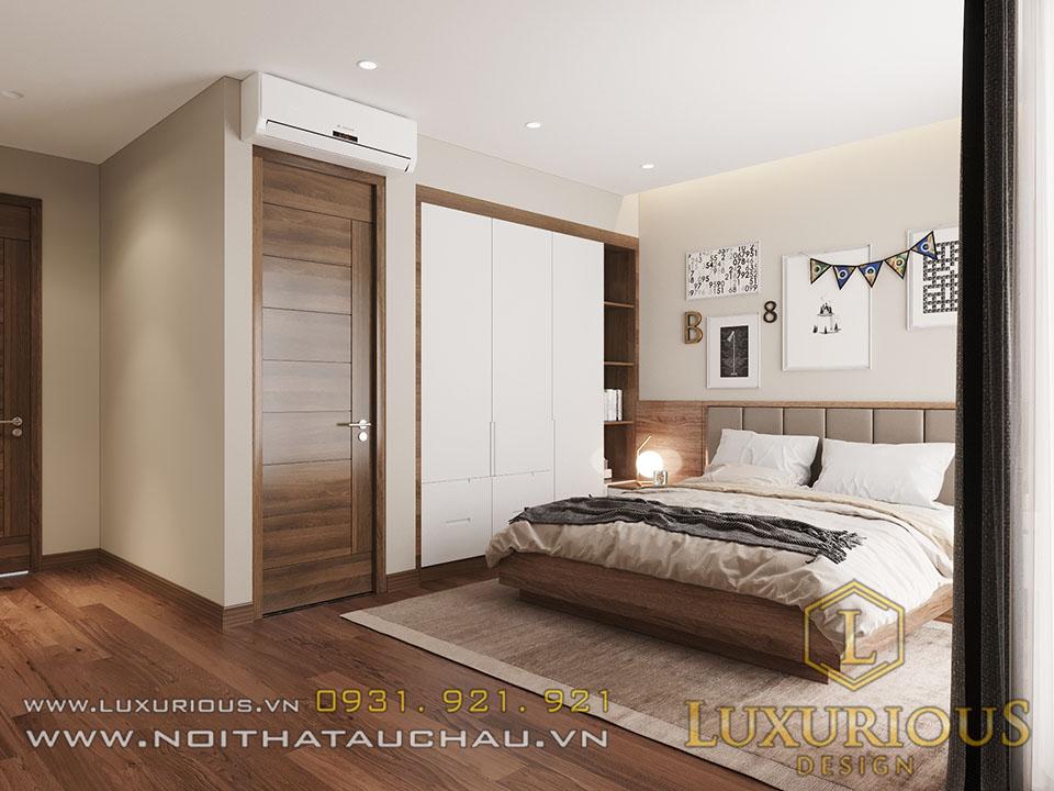 Mẫu phòng ngủ nhà phố hiện đại