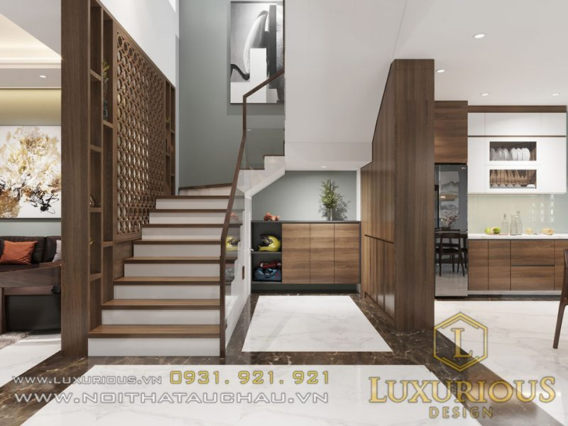 Thiết kế nội thất nhà ống 4 tầng