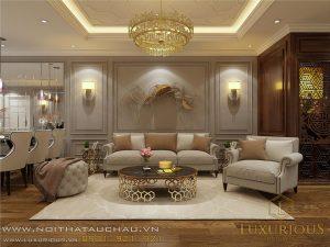 Thiết kế nội thất chung cư Diamond Flower Tower