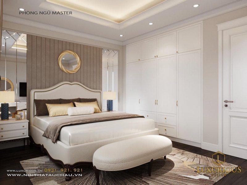 Thiết kế phòng ngủ chính sang trọng