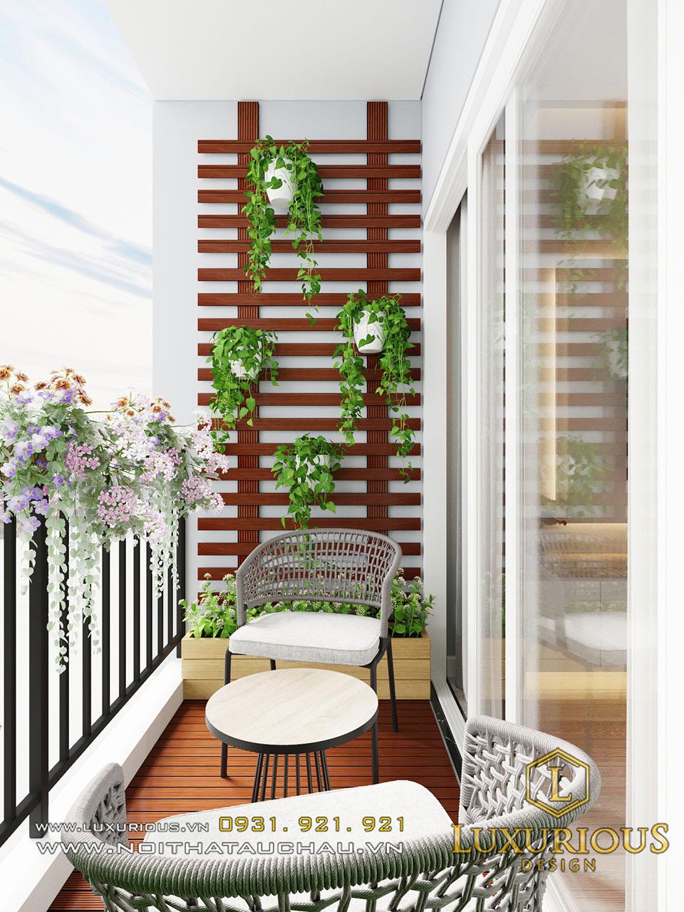 Logia chung cư Sky Oasis Ecopark