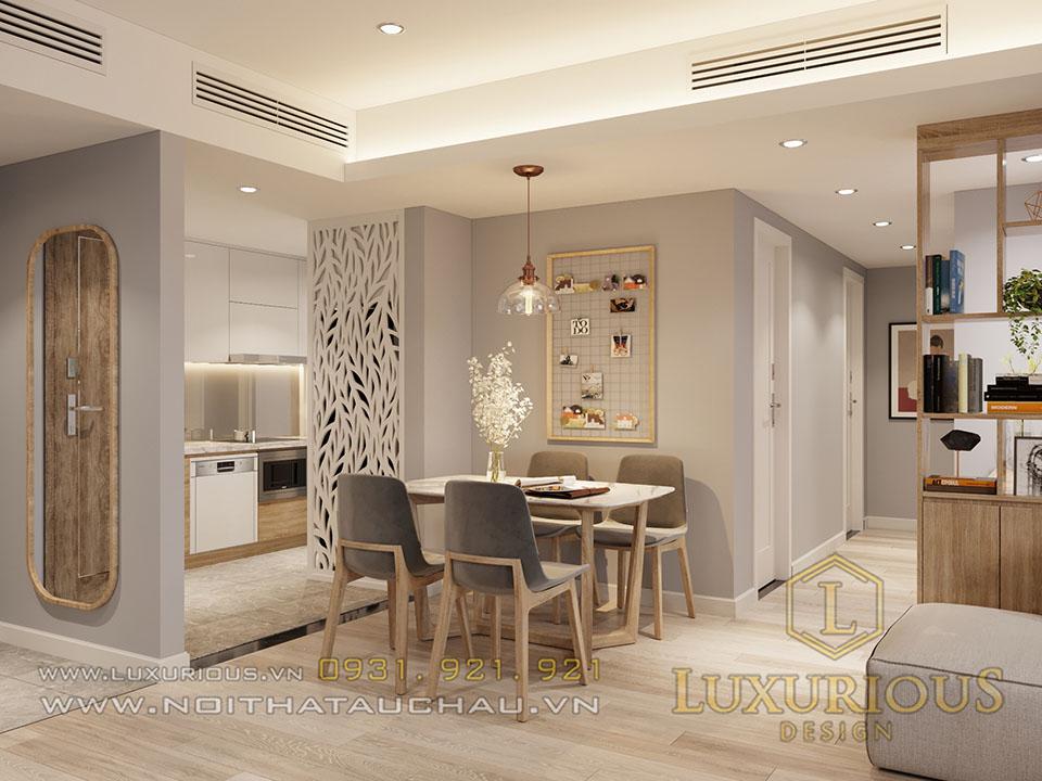 Thiết kế nội thất chung cư Sky Oasis