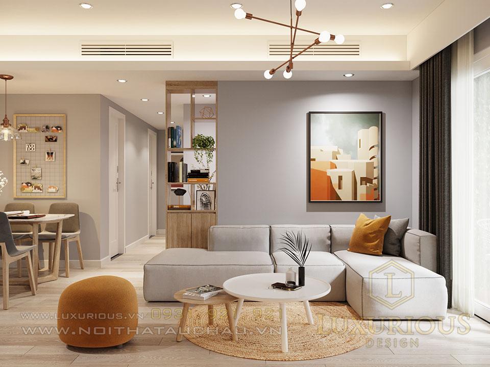 Thiết kế nội thất phong cách châu Âu Chung cư Sky Oasis Ecopark - Hưng Yên