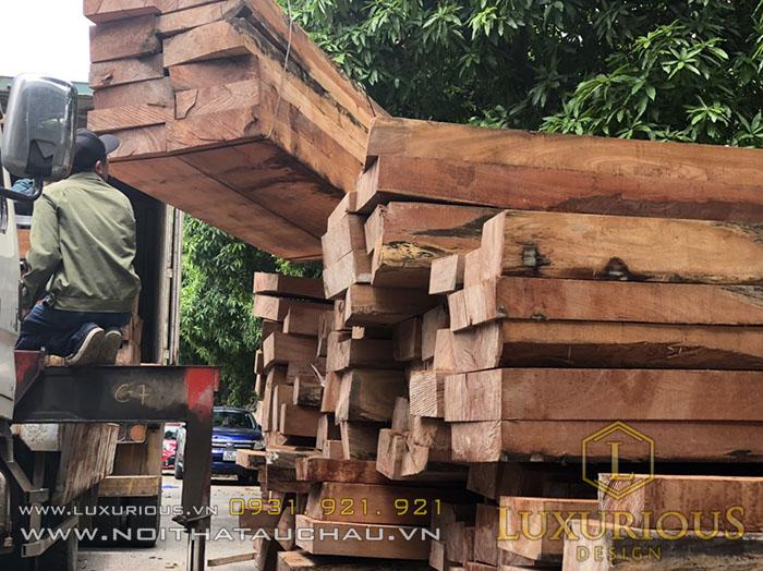 Gỗ nhập vào lựa chọn gỗ loại vào đã được xử lý theo quy trình tẩm sấy tiêu chuẩn Châu Âu