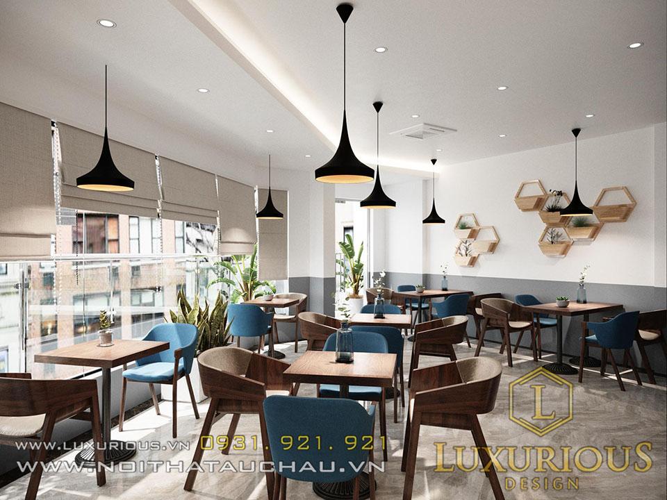 Mẫu thiết kế nhà phố kết hợp kinh doanh Cafe