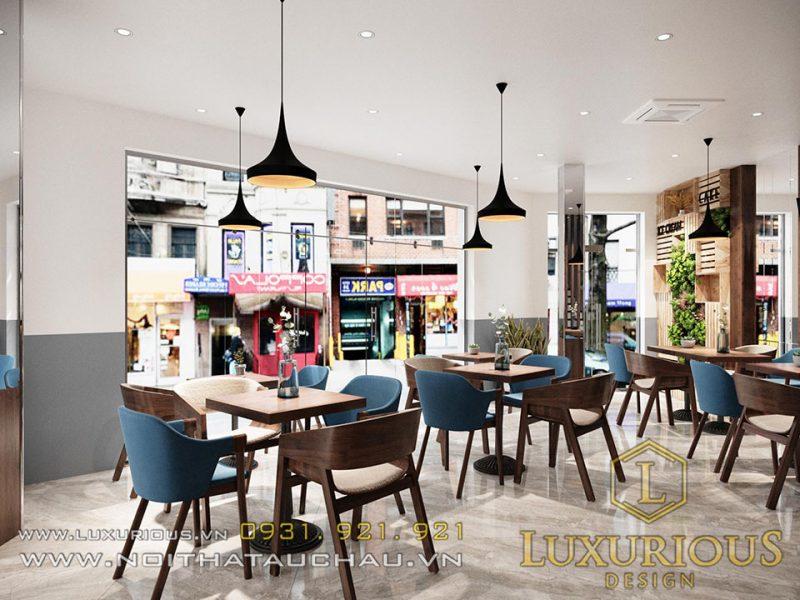 Thiết kế nhà kết hợp kinh doanh quán cafe