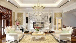 Thiết kế nội thất phong cách châu âu tân cổ điển