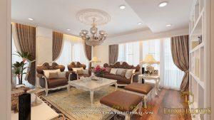 Thiết kế nội thất phòng khách 30m2
