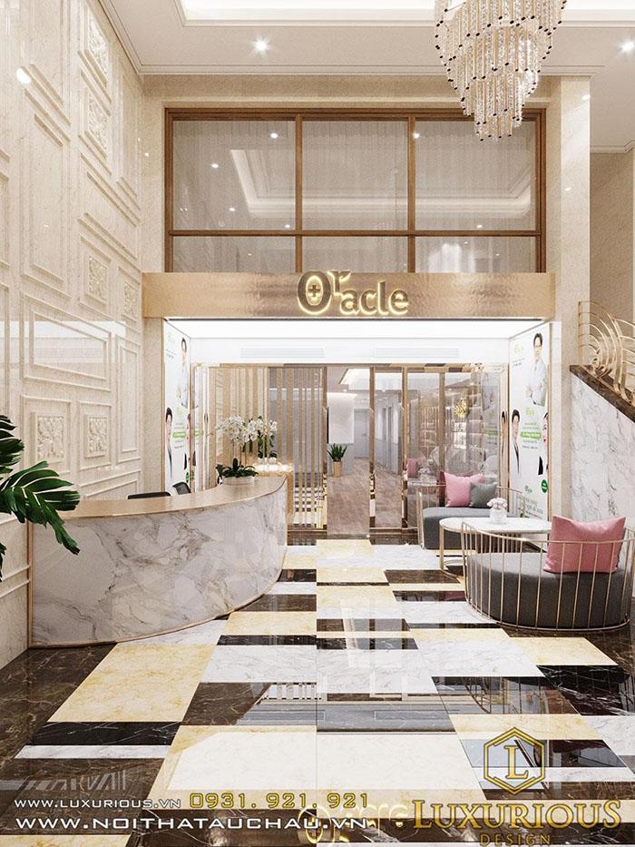 Thiết kế văn phòng Oracle