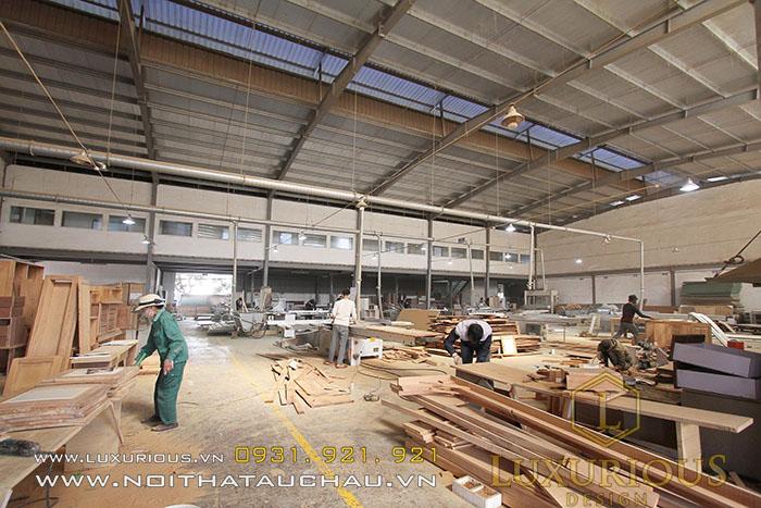 Xưởng sản xuất nội thất Mộc Minh Đức - Thương hiệu Luxurious Design