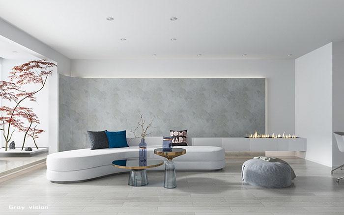 Thiết kế nhà đẹp tối giản lược bỏ hầu hết các nội thất rườm rà