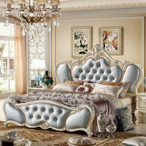 Mẫu giường ngủ tân cổ điển pháp